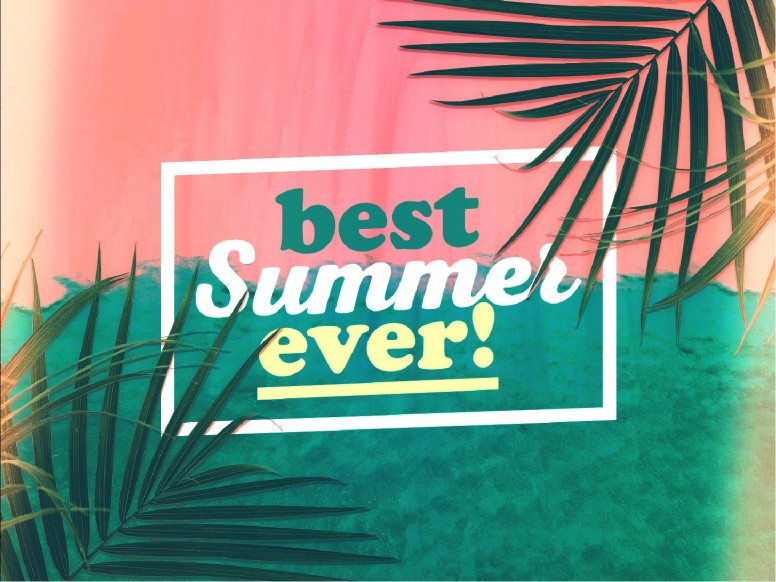 Best Summer Ever Church Title Graphic