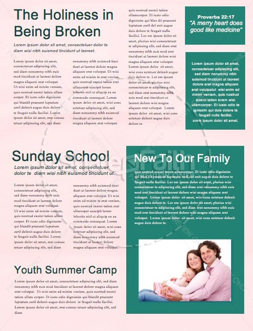 Best Summer Ever Church Newsletter