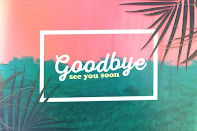 Best Summer Ever Church Goodbye Video