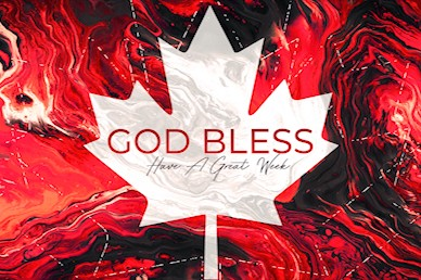 Canada Day Church Goodbye Motion Graphic