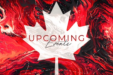 Canada Day Church Announcements Motion Graphic