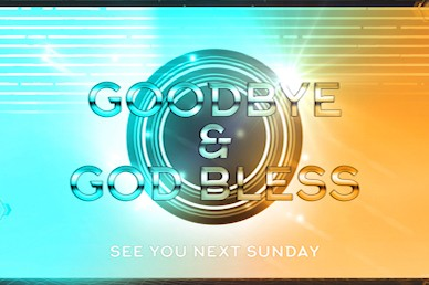 Vacation Bible School Goodbye Motion Graphic