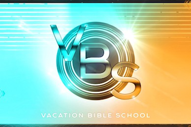 Vacation Bible School Church Motion Graphic