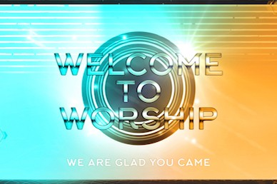 Vacation Bible School Welcome Motion Graphic