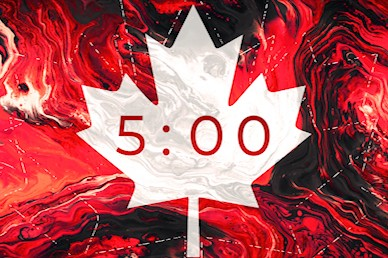 Canada Day Church Countdown Motion Graphic