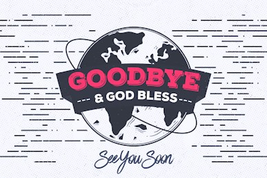 Missions Sunday Goodbye Motion Graphic