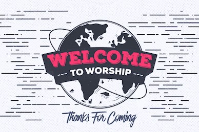 Missions Sunday Welcome Motion Graphic