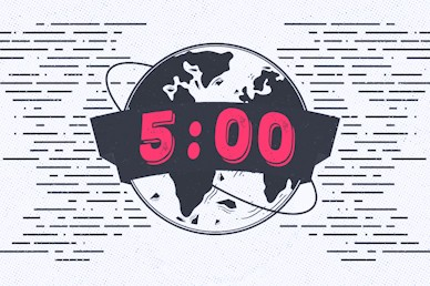 Missions Sunday Countdown Motion Graphic