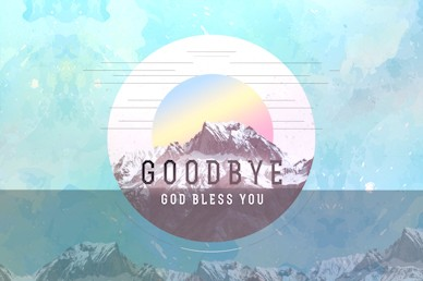 Peaks & Valleys Goodbye Motion Graphic