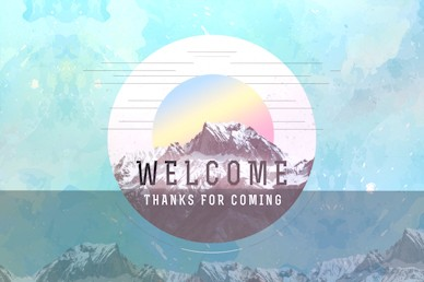 Peaks & Valleys Welcome Motion Graphic