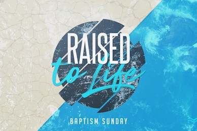 Raised To Life Church Motion Graphic