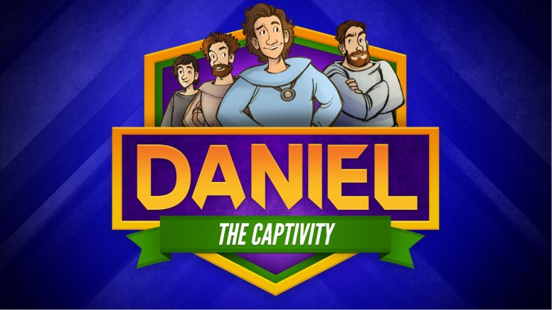 Daniel 1 The Captivity Kids Bible Story