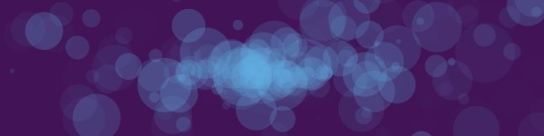 Worship Particles Blue Bokeh Multi Screen Motion Background
