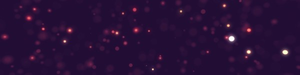 Worship Particles Red Shimmer Triple Wide Motion Background