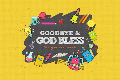 Back To School Student Ministry Goodbye Video