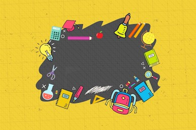 Back To School Student Ministry Motion Background