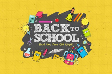 Back To School Student Ministry Motion Graphic