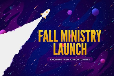 Fall Ministry Launch Church Motion Graphic