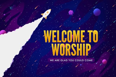 Fall Ministry Launch Welcome Motion Graphic