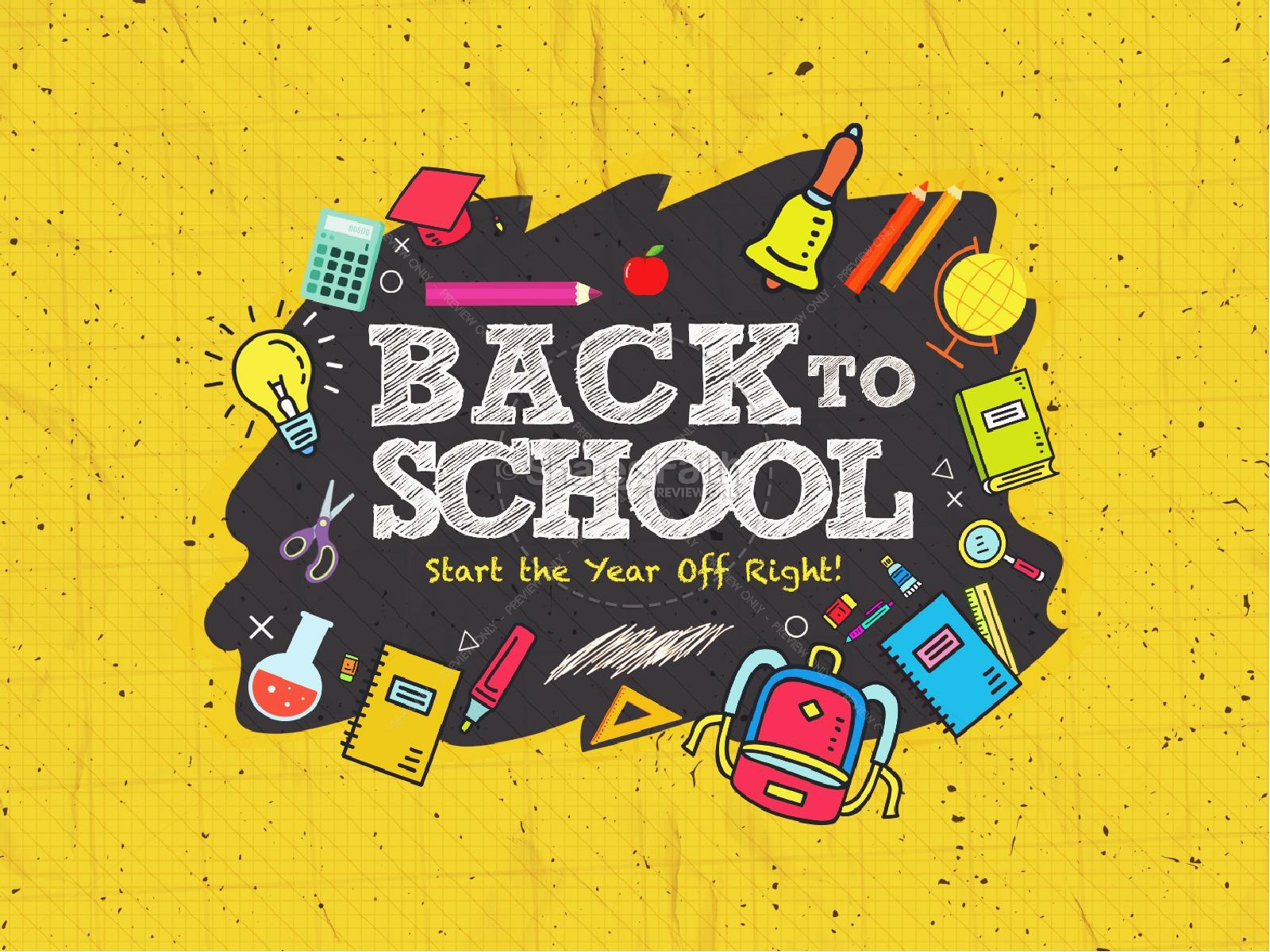 Back To School Student Ministry Graphic