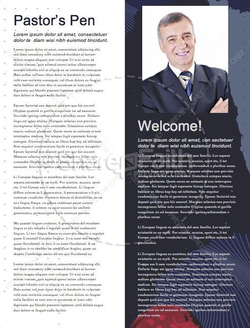 David A Man After God's Heart Church Newsletter