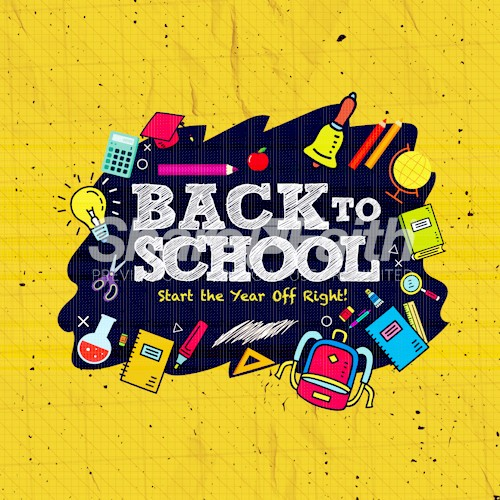 Back To School Student Ministry Social Graphic