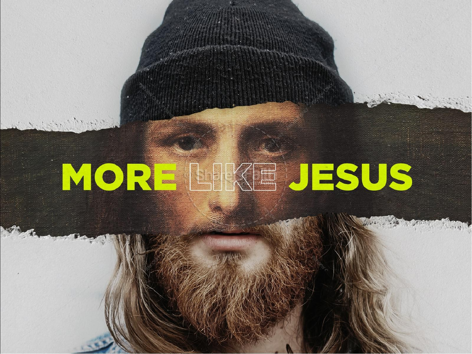More Like Jesus Title Graphic