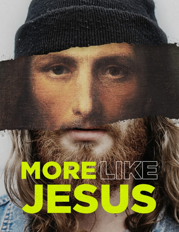 More Like Jesus Church Flyer Template