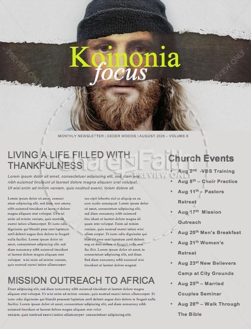 More Like Jesus Newsletter
