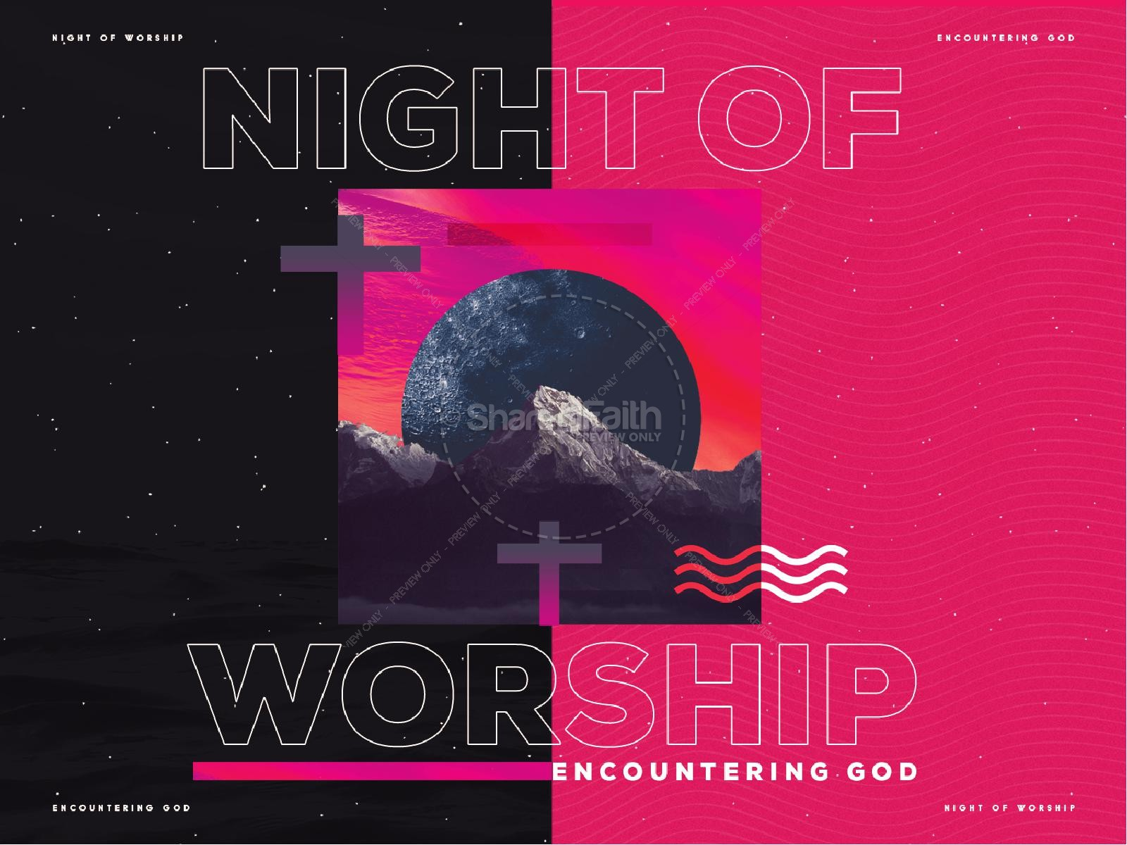 Night of Worship Church Event Powerpoint