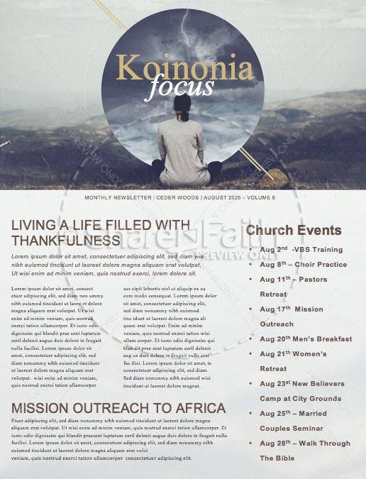 When in Doubt Church Sermon Newsletter