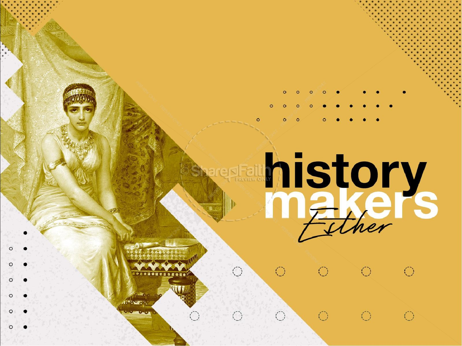 History Makers Church Sermon Powerpoint