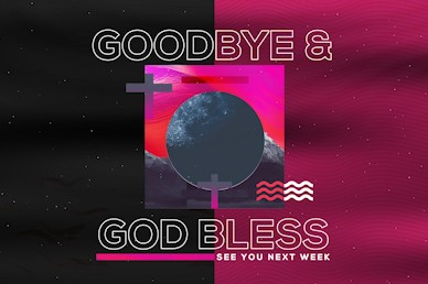 Night of Worship Church Event Goodbye Video Loop