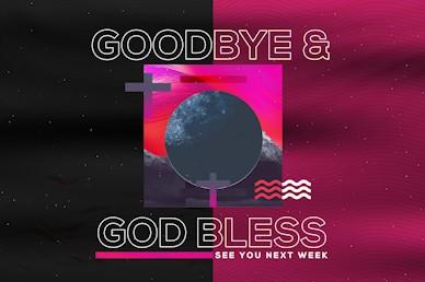 Night of Worship Church Event Goodbye Video Loop