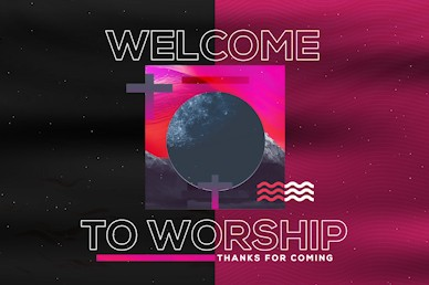 Night of Worship Church Event Welcome Video Loop