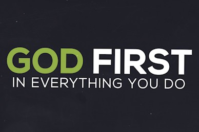 God First New Year's Sermon Video