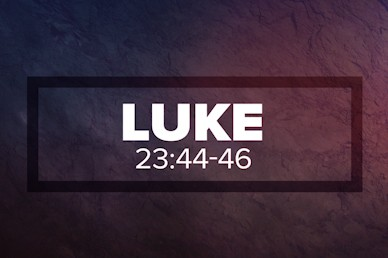 Luke 23:44 46 Scripture Mini Movie