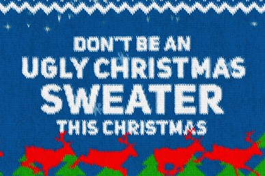 Ugly Christmas Sweater Mini Movie