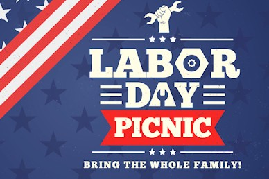 Labor Day Picnic Motion Title