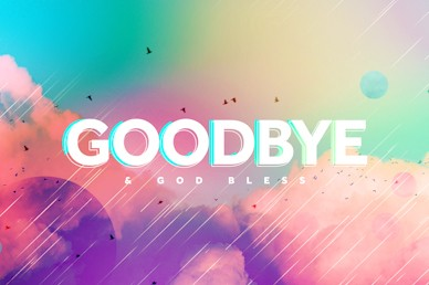 Vision Sunday Bright and Colorful Church Sermon Goodbye Video