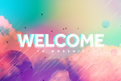 Vision Sunday Bright and Colorful Church Sermon Welcome Video
