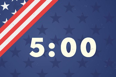 Labor Day Picnic Countdown Motion Graphic