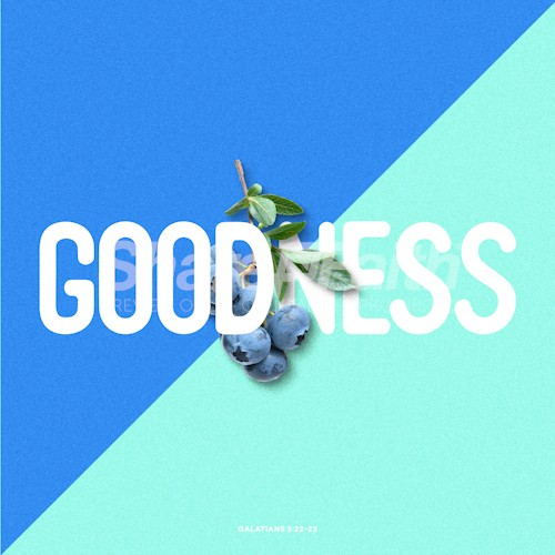 The Fruit of Goodness Social Media Graphic