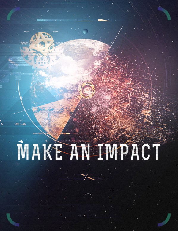 Make an Impact Church Sermon Flyer