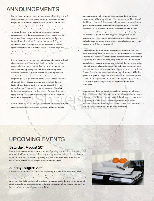Man to Man Church Sermon Newsletter | page 4