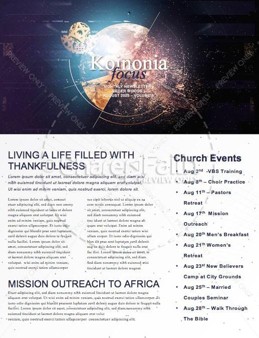 Make an Impact Church Sermon Newsletter
