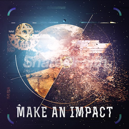 Make an Impact Church Sermon Social Media Graphic