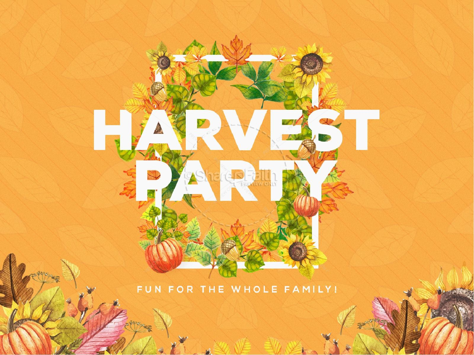 Harvest Party Church Media Powerpoint