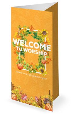 Harvest Party Church Trifold