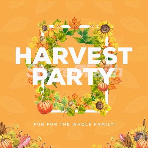 Harvest Party Church Social Media